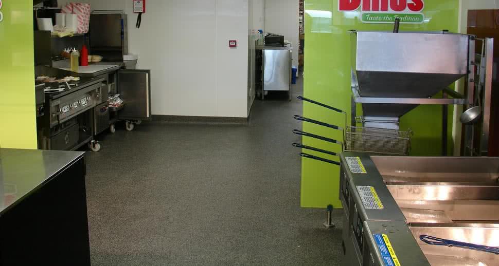 Fast Food Hygienic Floor