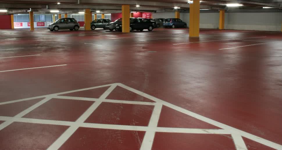 Durable Car Park Floor