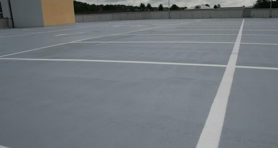 Heavy Duty car park flooring solution