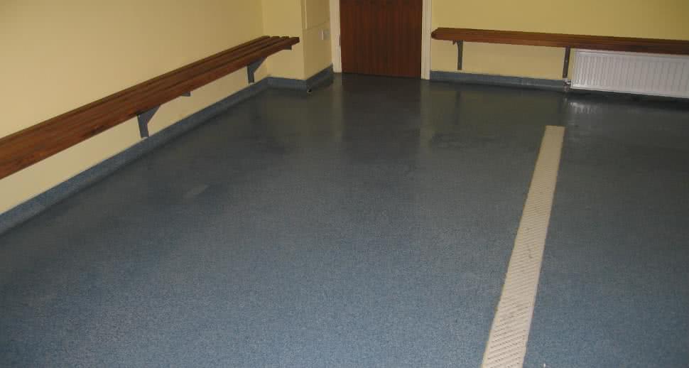 Sports facility flooring