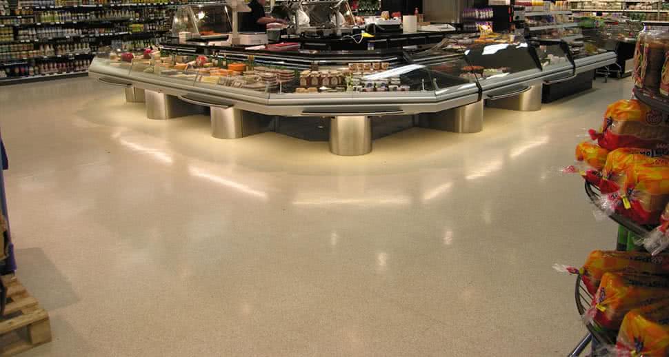 Supermarket Flooring