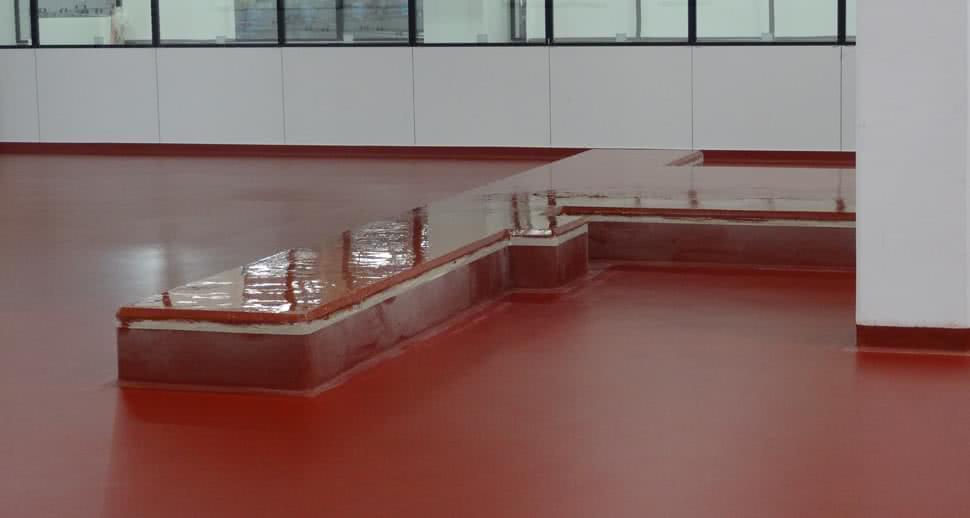 non slip dairy warehouse floor