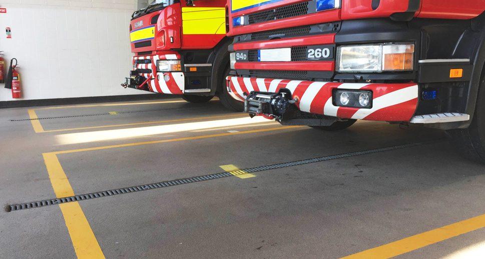 Fire Station Durable Resin Floor