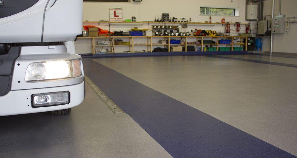 Coastguard non slip flooring